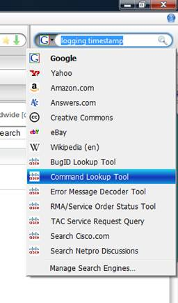 Cisco Search Bars for IE7 and FireFox | CoNetrix