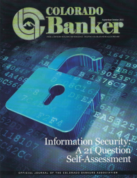 Colorado Banker Magazine September October 2013