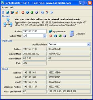 how to calculate subnet mask from ip address pdf