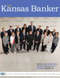 The Kansas Banker April/May 2013