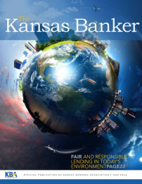 Kansas Banker Magazine July 2013