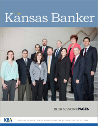 Kansas Banker Magazine April 2014