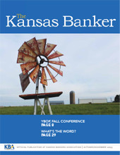 The Kansas Banker Oct. 2015