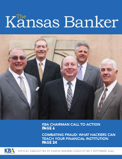 The Kansas Banker Sept. 2015
