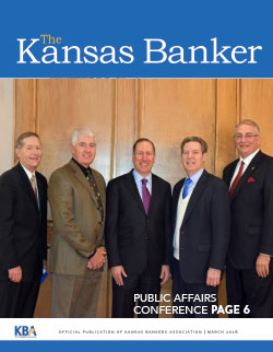 The Kansas Banker March 2016