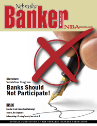 Nebraska Banker Magazine May/June 2012