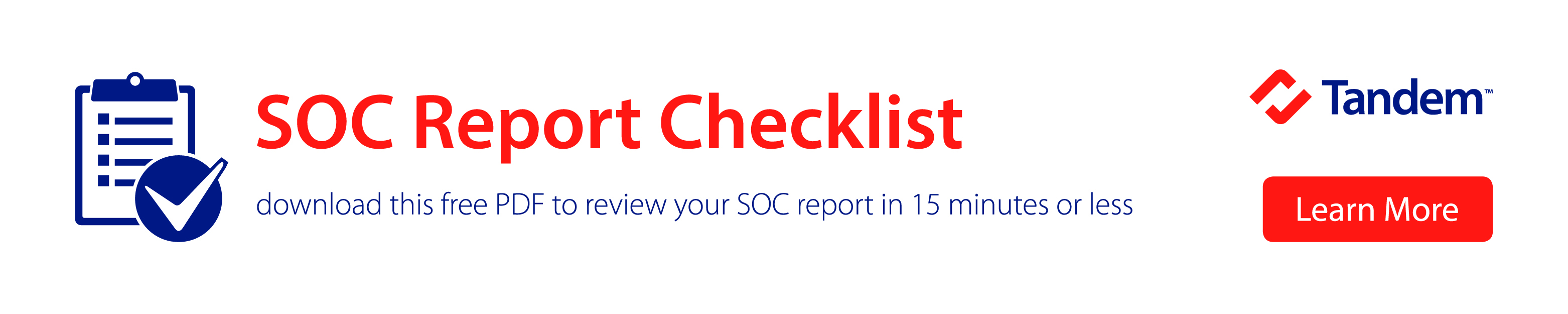 SOC Report Review Checklist